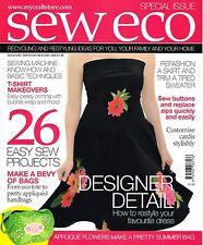 SEW ECO Special Bookazine RECYCLING & RESTYLING Fashion Home Accessories @NEW@