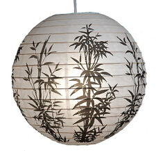 PL108: 16'' Chinese Japanese Party Paper Lantern Good Luck Lucky Rich Bamboo