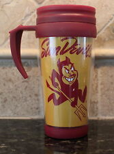 Arizona State Sun Devils Insulated Travel Mug NCAA College 16oz Coffee Cup