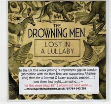 (EF225) The Drowning Men, Lost In A Lullaby - 2012 DJ CD