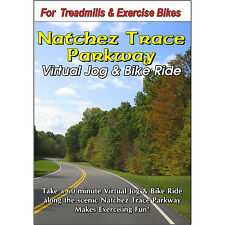 Natchez Trace Parkway Video Cycling Scenery Bike Jog Exercise Fitness Dvd
