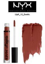 New Nyx Lip Lingerie Liquid Matte Lipstick Lipli12 Exotic 100% Authentic