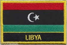 Libya Flag Embroidered Patch Badge - Sew or Iron on