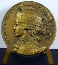 Medaille c1940 Dragons soldat cavalier militaire Delamarre military rider medal