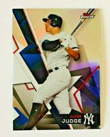 2018 Topps Finest Aaron Judge Refractor Card #1, NY Yankees!