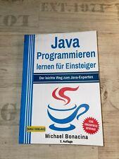 Java - Programmieren lernen für Einsteiger Buch  (Michael Bonacina)