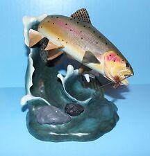 DANBURY MINT TROUT TREASURE FISH STATUE SCULPTURE FIGURINE GENTLE YELLOWSTONE