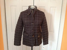 Women's Nautica black quilted jacket Size S