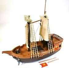 Vintage Playmobil 3050 Pirate Ship F482