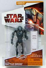 Star Wars Saga Legends Legacy Collection #SL05 Super Battle Droid Figure CARDED