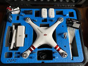 DJI Phantom 3 Advanced Drone + GPC Hard case + iPad and Extras