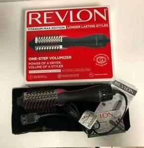 Revlon One-Step Hair Dryer and Volumizer Titanium Max Edition NEW