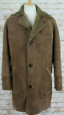 Baily's Brown Sheepskin Shearling Coat size 42