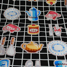 Crafts Less than 1 Metre Food & Drink 100% Cotton Fabric