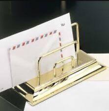 El Casco Letter Rack M-672L 23k Gold