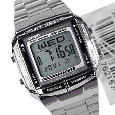 Casio Orologio da uomo LCD Digitale banca di dati in acciaio inox db-360-1a. ytbv