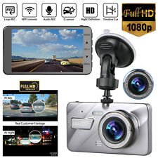 "4"" Vehicle 1080P HD Car Dashboard DVR Camera Video Recorder G-Sensor Dash Cam"