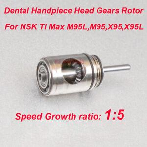 Dental Handpiece Rotor Head Gears Cartridge For NSK Ti Max М95L,M95,X95,X95L New