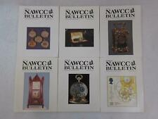 Lot of 6 NAWCC BULLETIN Association of Watch & Clock Collectors 1996