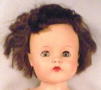 Vintage Walker Doll Vinyl Head Hard Plastic Body 75 Mark 21in Sleep Eyes As Is