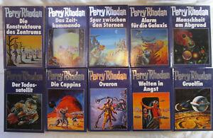 Perry Rhodan 41-50 Blauband Sammlung Bertelsmann 42 43 44 45 46 47 48 49 blau