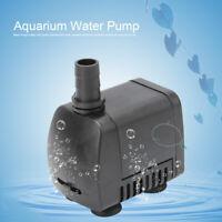 Submersible Aquarium Fish Tank Water Fountain Pump  600 L/H 110V/220V
