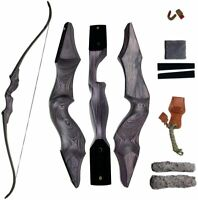Takedown Recurve Bow Archery Right and Left Handed Riser Bow for Hunting Target
