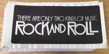 """""""There Are Only Two Kinds of Music: Rock & Roll"""" Sticker (NEW)"""