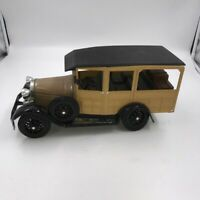 Jim Beam Woodie Station Wagon Car, 1929 Model A Ford Whiskey Decanter - 1983