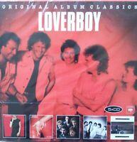 LOVERBOY - 5 CD SET ORIGINAL ALBUM CLASSICS incl. Demo Tracks !! NEU NEW