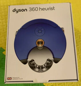 Dyson 360 Heurist Robot Vacuum - Nickel Blue. Brand New Box Only.