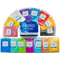 Rolio Mica Powder - For Epoxy Resin, Slime, Candle, Soap, Cosmetic Making-15Bags