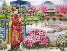 The Japanese Garden Cross Stitch Kit