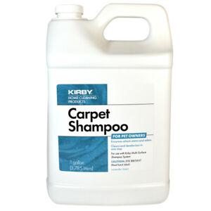 KIRBY shampoo VACUUM CARPET RUG SHAMPOO PET OWNERS GALLON  SHAMPOO