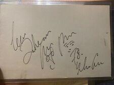 The Beatles John Lennon and Yoko Ono Autograph