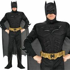 Batman Dark Knight Deluxe Muscle Chest Adult Mens Fancy Dress up Costume Medium