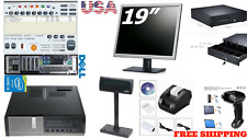 Low price Full Pos all-in-one Point of Sale System Combo Kit Retail Store Pole