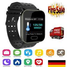 FitneßTracker Smartwatch Pulsuhr Blutdruck Uhr Smart Armband Wasserdicht IP67