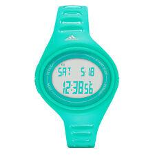 Nuevo Adidas Adizero Silicona Verde Banda Digital Ovalado Esfera Reloj ADP6131