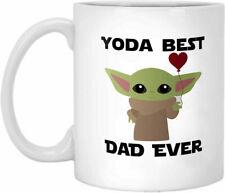 Yoda Best Dad Ever, Baby Yoda Father's Day Gift, Mandalorian, Starwars  Mug