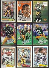 DARREN SHARPER Green Bay Packers Wm. & Mary 1998 Ultra SIGNED / AUTOGRAPH Card