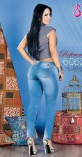 JEANS COLOMBIANOS AUTHENTIC COLOMBIAN PUSH UP JEANS LEVANTA COLA SALOME