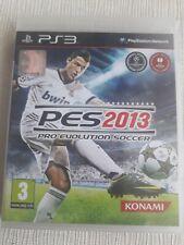 PS3 Pes 2013 Pro Evolution SCOCCER Sony Playstation