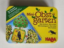 * Mini Obstgarten * von HABA ab 3 Jahre vollständig Reisespiel in Metalldose