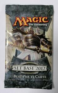 Magic The Gathering MTG Set Basis 2012 Verstärker Tüte Italienisch Versiegelt