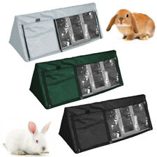 Triangle Bunny Hutch Cover Waterproof pet Rabbit Cage Dust Cover outdoor
