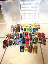 48 CARS IN CLEAR CASE MATCHBOX HOT WHEELS AND RACING CHAMPIONS 2000-2003 ?