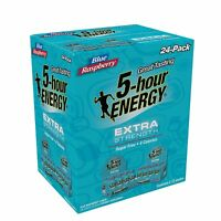 5-Hour Energy Shot, Extra Strength Blue Raspberry ( 12, 24 or 48 pack )