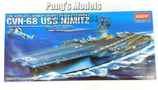 USS Nimitz CVN-68 Carrier 1/800 Scale Plastic Model Kit - ASSEMBLY REQUIRED