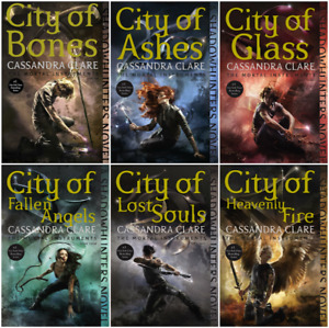 Shadowhunters--The Mortal Instruments Book Series 6 books set--Express post